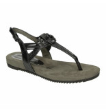 Tamaris Slippers sandalen 041261 antraciet