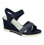 Tamaris Slippers sandalen 041263 blauw