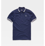 G-Star Dunda slim polo d11595-5864-6067 blauw