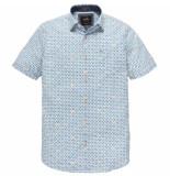 Vanguard Vsis192402 7003 short sleeve shirt print stripe white wit