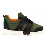 Red Rag Sneakers kaki fabrics groen