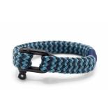 Pig & Hen P14-ss19 261822 armband gorgeous george sky blue - slate gray | black grijs
