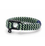 Pig & Hen P14-ss19 251822 armband gorgeous george mint green - slate gray   blac grijs