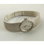 Christian Omega horloge wit goud