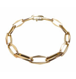 Christian Gouden armband closed forever geel goud