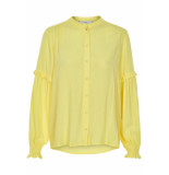 Numph Jentry shirt yellow pear geel
