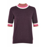 Numph Katell pullover plum perfect paars