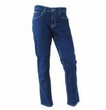 Brams Paris Heren jeans stretch lengte 32 burt dark denim blauw