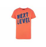 Retour Shirt korte mouw andy neon ora oranje
