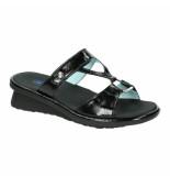 Wolky Slippers sandalen 035967 zwart