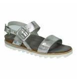 Wolky Slippers sandalen 041335 zilver