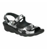 Wolky Slippers sandalen 0413 zwart