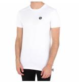Philipp Plein Statement black cut t-shirt round eck wit