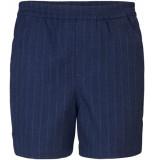 PLAIN Turi 951 navy paco shorts blauw