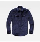 G-Star 3301 shirt blauw