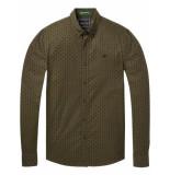 Scotch & Soda Classic oxford shirt groen
