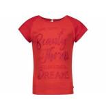 Baker Bridge Shirt korte mouw tatum rood
