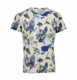 Selected Homme Haiden ss o-neck blauw