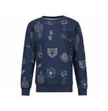 Baker Bridge Sweater karm navy blauw