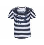 Baker Bridge Shirt korte mouw timberlay navy blauw