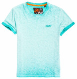 Superdry Low roller tee groen