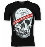 Golden Gate T shirt mannen zwart