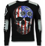 Golden Gate Sweatshirt heren zwart