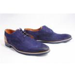 Van Lier 1913508-660 veter gekleed blauw