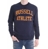 Russell Athletic Iconic tackle twill crewneck blauw