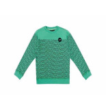 Jumping The Couch Sweater zigzag groen