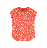Tumble 'n Dry Shirt korte mouw charis coral rood