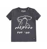 Tumble 'n Dry Shirt korte mouw atijs antracite zwart