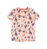 Tumble 'n Dry Shirt korte mouw estelle peach oranje