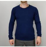 Anerkjendt Theo knit blauw