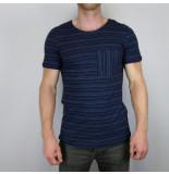 Anerkjendt Mason t-shirt blauw