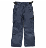 Color Kids Donker satti softshell broek 5.000mm waterkolom blauw