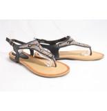 Pia Rossini Layla sandalen zwart