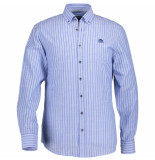 State of Art Shirt striped mint 212-19147-5257 blauw