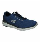 Skechers Veterschoenen 0485 blauw