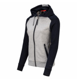 Sjeng Sports Ss lady jacket londora plus 041029 blauw