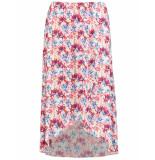 Taifun Skirt short woven fa off- patterned 310019-17130 wit