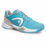Head Tennisschoen revolt pro women blue neon coral blauw