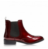 Dune London Quentin burgundy rood