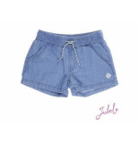 Jubel Short dots denim blauw