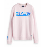 Scotch & Soda Amsterdams blauw peak artwork roze