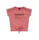 Little Miss Juliette Shirt korte mouw summer roze