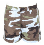 Airforce Kids swimshort camo blauw