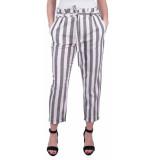 ZHRILL Coccara delia stripe pants wit