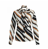 Given Gestreepte blouse desiree wit