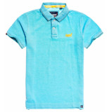 Superdry Classic poolside pique polo wit